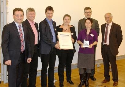 Zum dritten Mal: Strategiepreis der Wartburgregion 2013 verliehen
