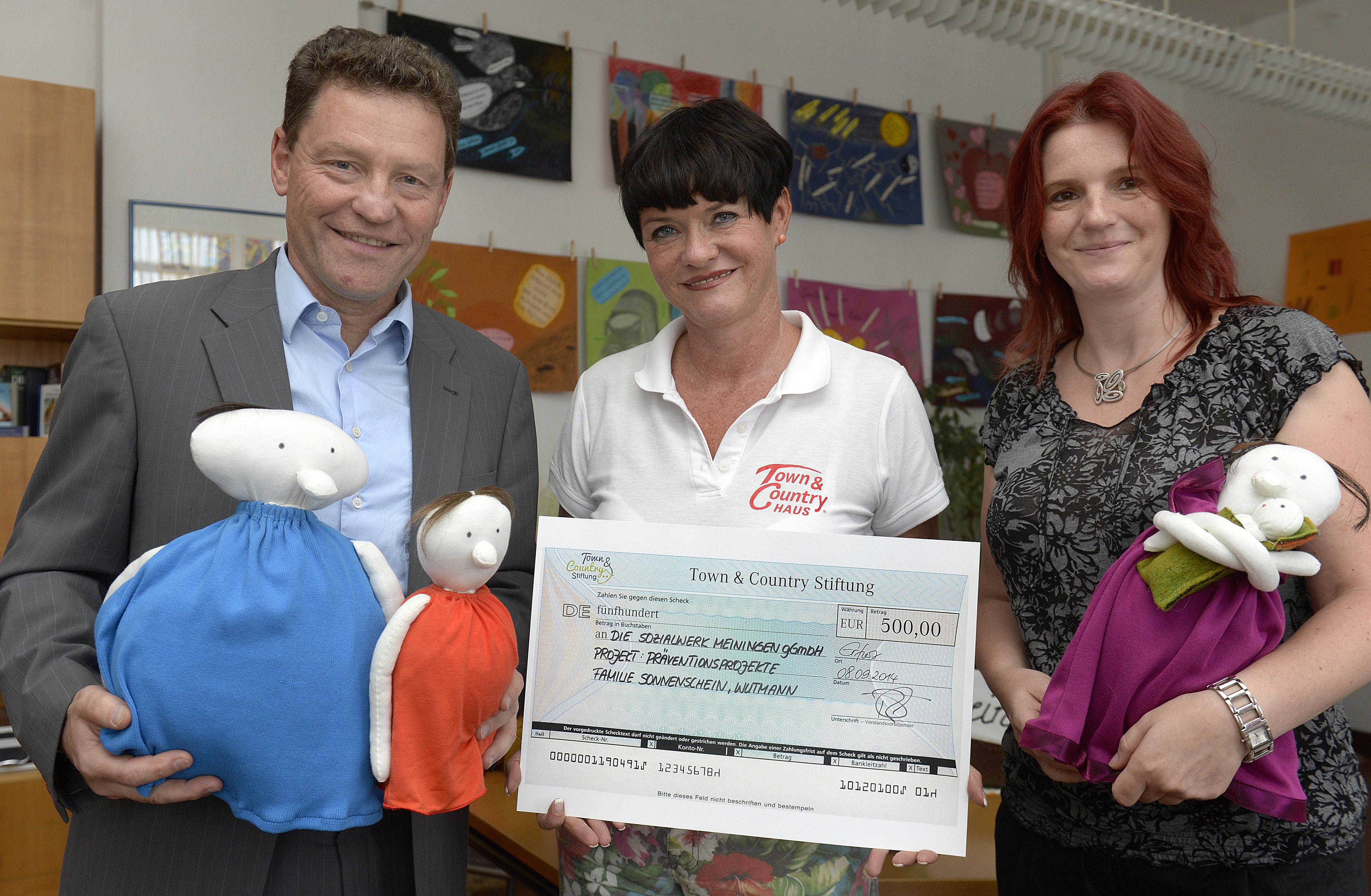 Town & Country Stiftung spendet an das Kinder- und Jugendhilfezentrum des Sozialwerkes Meiningen