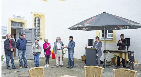 19. Bildhauersymposium im Schlosspark von Behringen war voller Erfolg