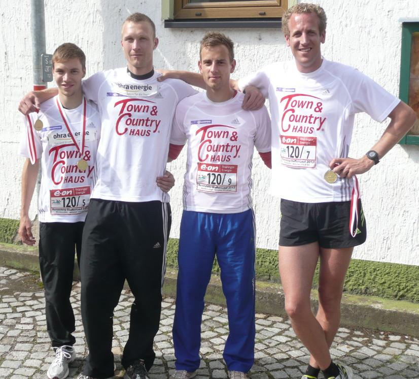 """""""Town & Country Haus /Laufteam Ohra Hörsel Energie"""" erfolgreich beim 14. Rennsteigstaffellauf"""