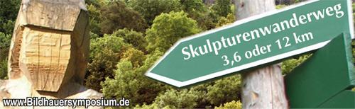 Aus Skulpturenpark  entwickelten sich Skulpturenwanderwege