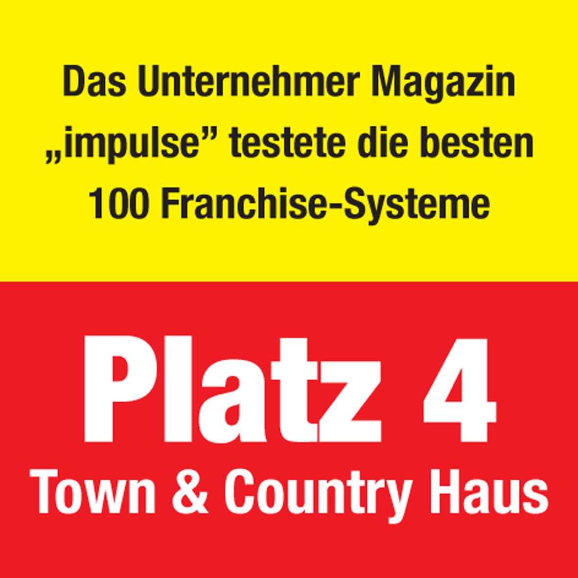 Town & Country Haus erneut bestes System in der Kategorie Handwerk
