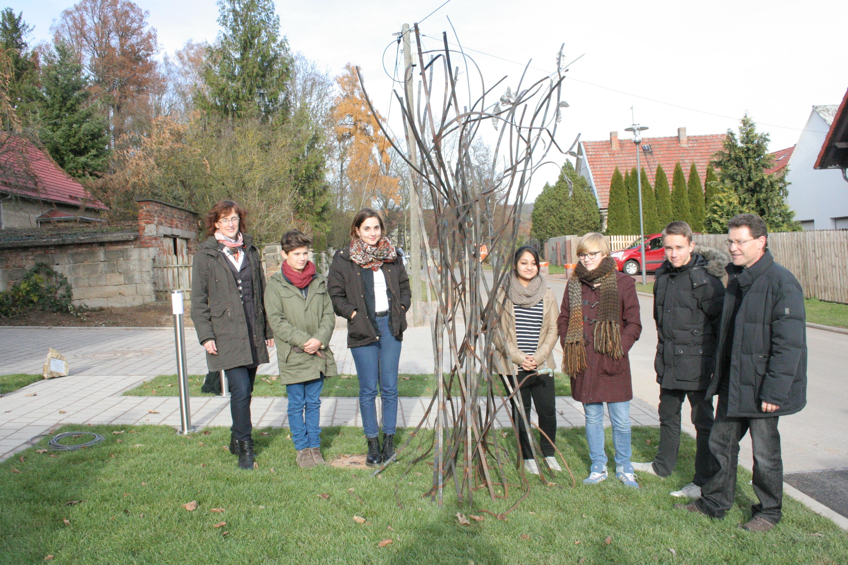 Kunstprojekt des Eisenacher Martin-Luther-Gymnasiums eingeweiht