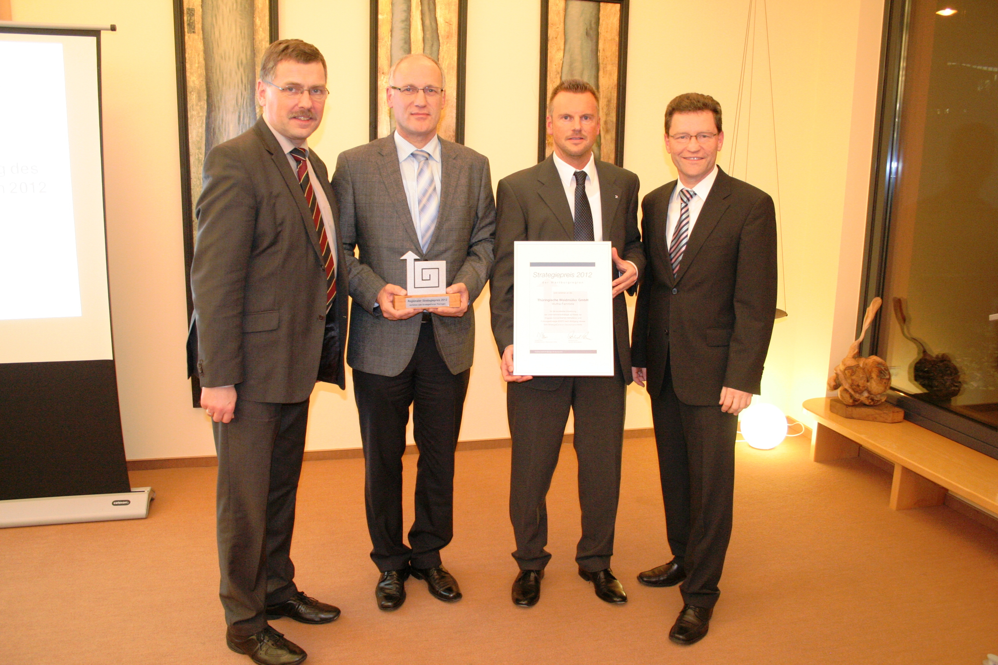 Strategiepreis der Wartburgregion 2013