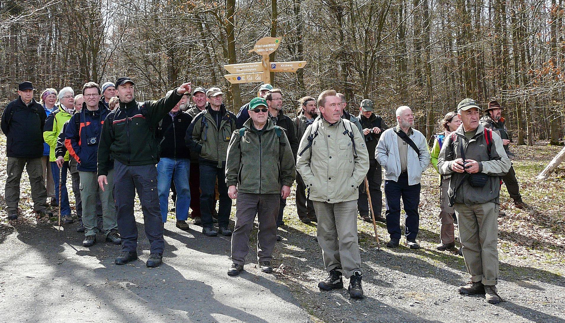 Hainich-Nationalparkführer besuchen Kellerwald