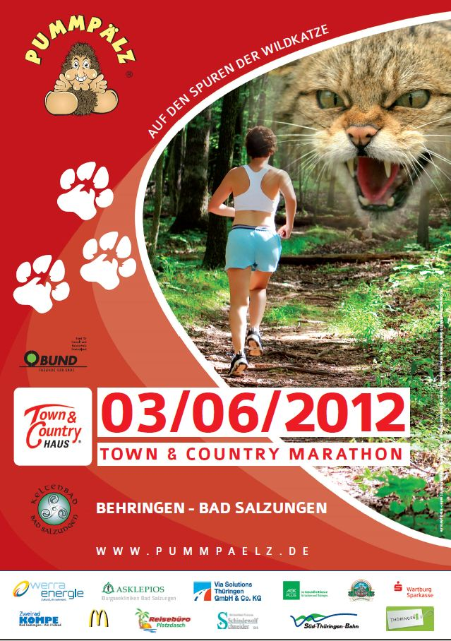 10. Town & Country Marathon am 2. Juni 2013
