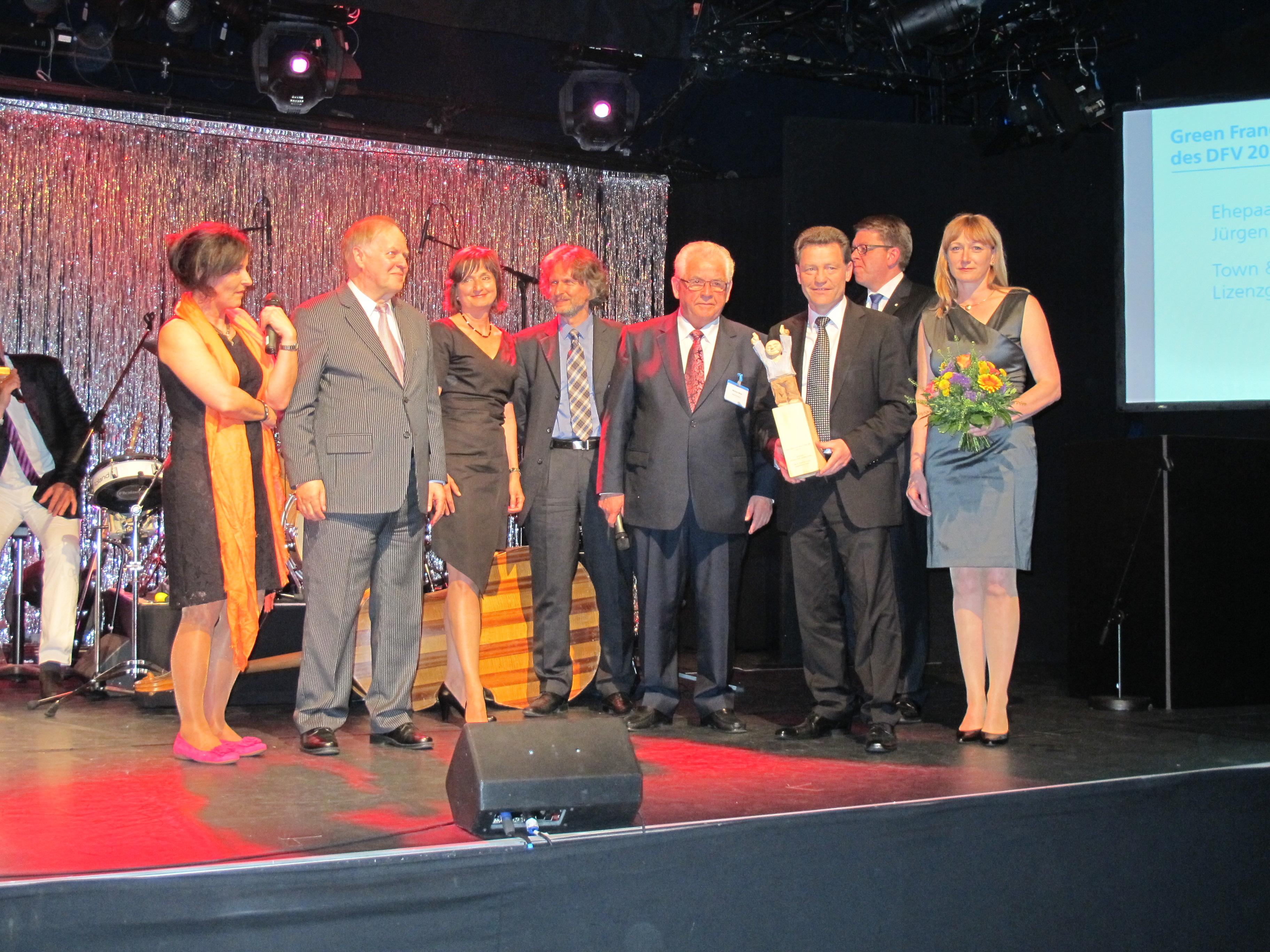 Gründer von Town & Country-Haus mit 1. DFV Green Franchise Award ausgezeichnet