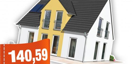 Ein Town & Country Massivhaus für gerade einmal 140,59 Euro