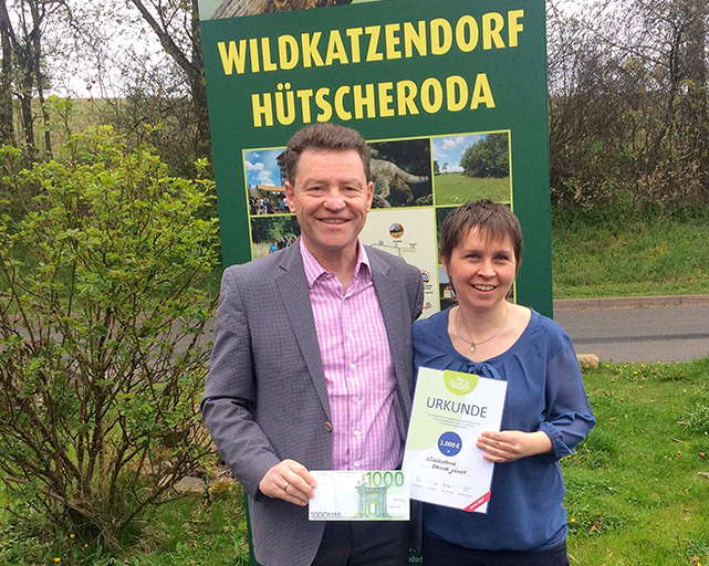 "Town & Country Stiftung vergibt Spende an Kinderhilfsprojekt ""Wildkatzen- (Kenner) Kinder"" der Wildtierland Hainich gGmbH"