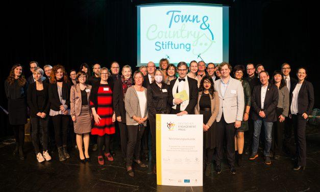 Preisverleihung des 5. Stiftungspreises der Town & Country Stiftung
