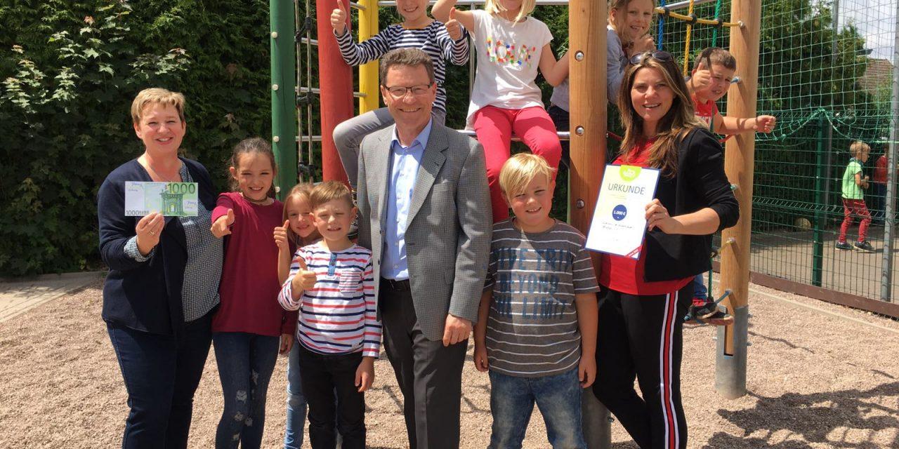 Town & Country Stiftung unterstützt Förderverein der Hörselschule Hörselgau e.V.  mit Spende in Höhe von 1.000 Euro