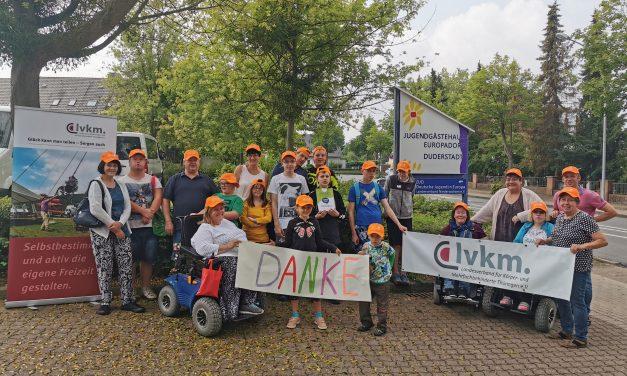 Landesverband für Körper- und Mehrfachbehinderte Thüringen e.V. wird mit 1.000 Euro durch die Town & Country Stiftung gefördert