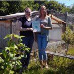 Der Förderverein der Heinrich-Auel-Schule Rotenburg e.V. wird mit 1.000 Euro durch die Town & Country Stiftung gefördert